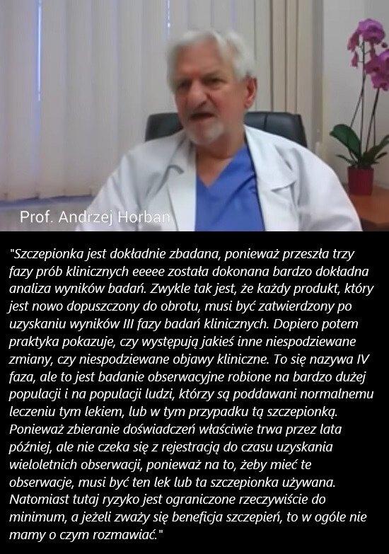 4 faza eksperymentów - prof. Horban