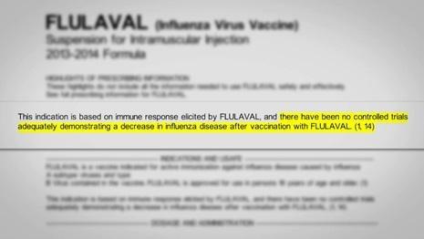 Flulaval - badania skuteczności
