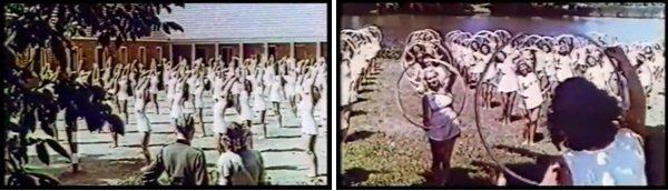 Nazistowskie Niemcy - dziewczęta w kostiumach kąpielowych
