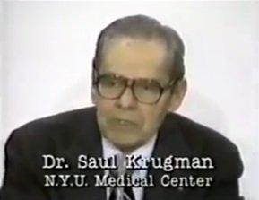 dr Saul Krugman - Szczepionkowa ruletka