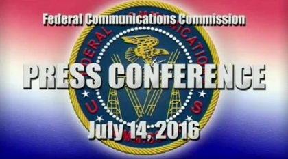 Federalna Komisja Łączności, 14 lipca 2016 roku