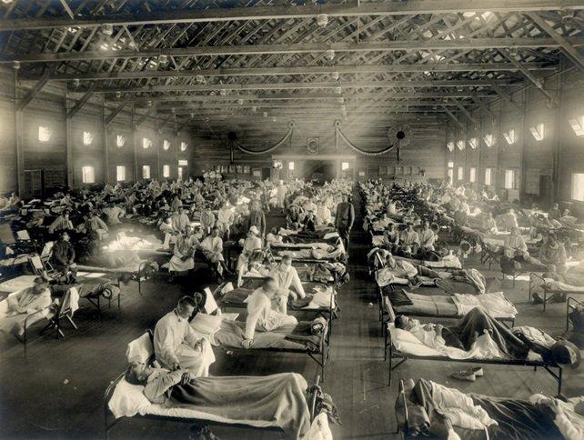 """Czy eksperyment szczepionkowy na amerykańskich żołnierzach spowodował epidemię """"hiszpańskiej grypy"""""""