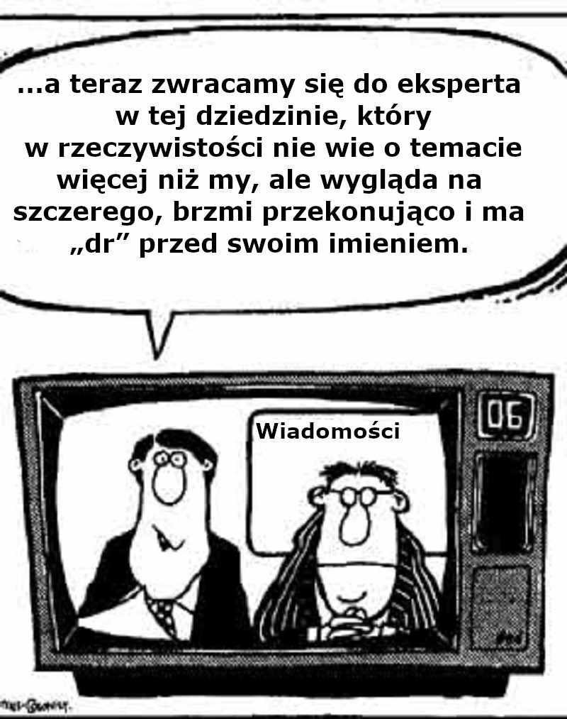 Musimy zaufać ekspertom - Jarosław Pinkas