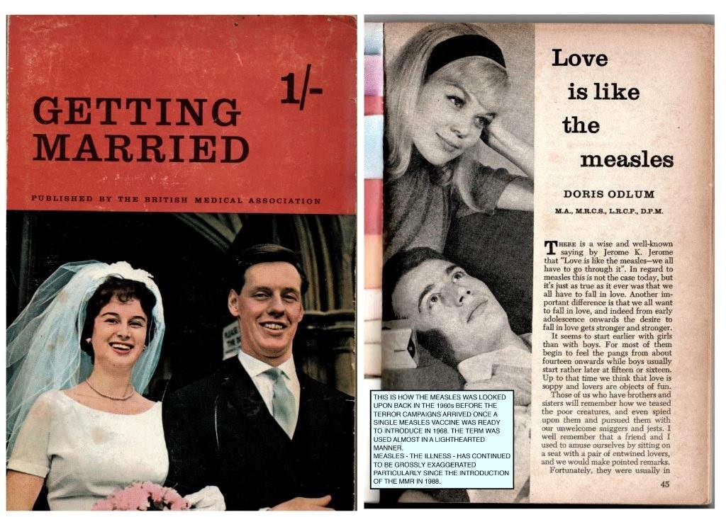 Getting Married [Wziąć ślub] - love is like the measles 1962