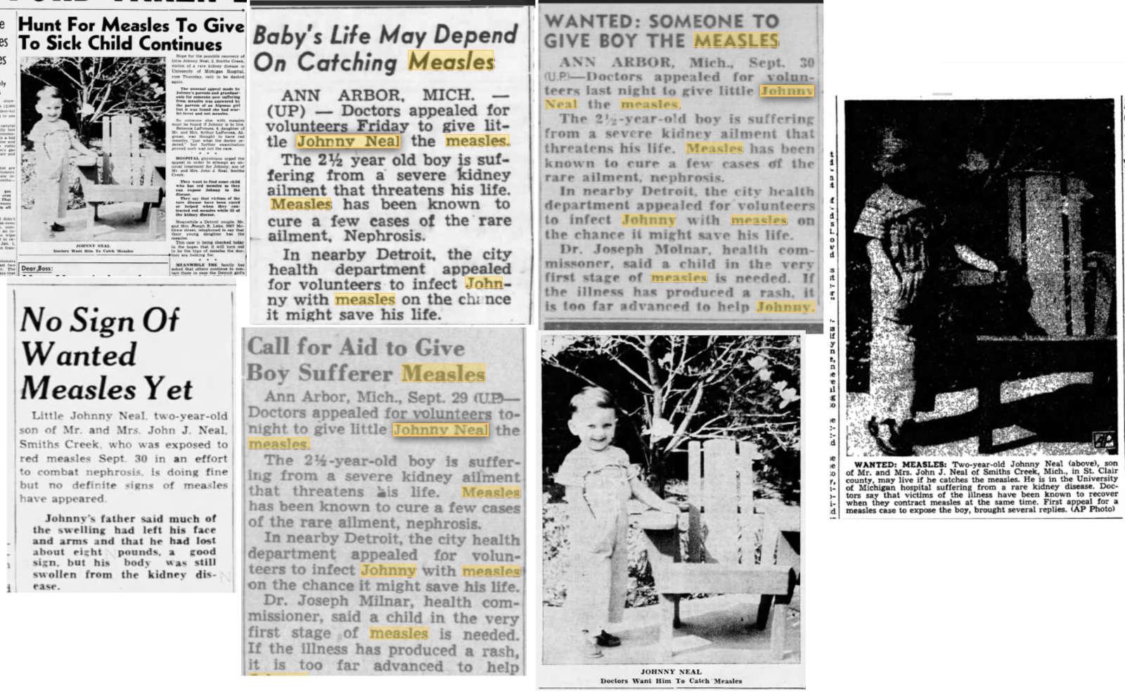 Odra w prasie i książkach, zanim pojawiła się szczepionka przeciw odrze