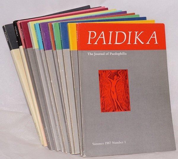 Paidika - Recenzowane czasopismo Pedofilii