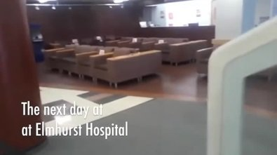 Kolejny dzień w Elmhurst Hospital