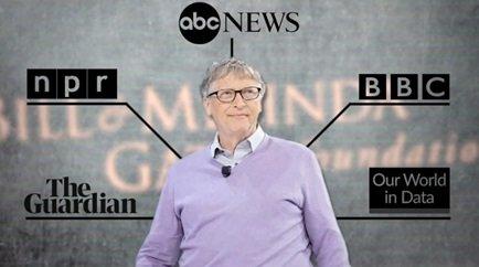'Fundacja Billa i Melindy Gates' wydaje dziesiątki milionów dolarów rocznie na współpracę z mediami