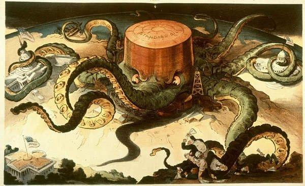 John D. Rockefeller - szef hydry Standard Oil