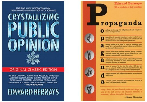 Krystalizowanie opinii publicznej (1923) i Propaganda (1928)
