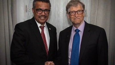 Tedros Adhanom Ghebreyesus i Bill Gates - tuszowanie cholery