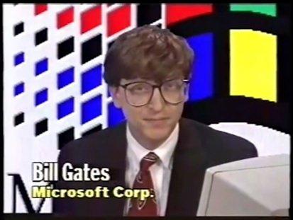 Witam. Jestem Bill Gates, prezes Microsoft. W tym filmie zobaczysz przyszłość.