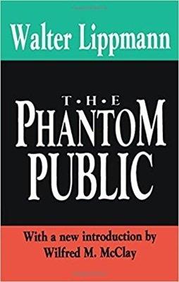 """Ksiązka """"The Phantom Public"""" Waltera Lippmana"""