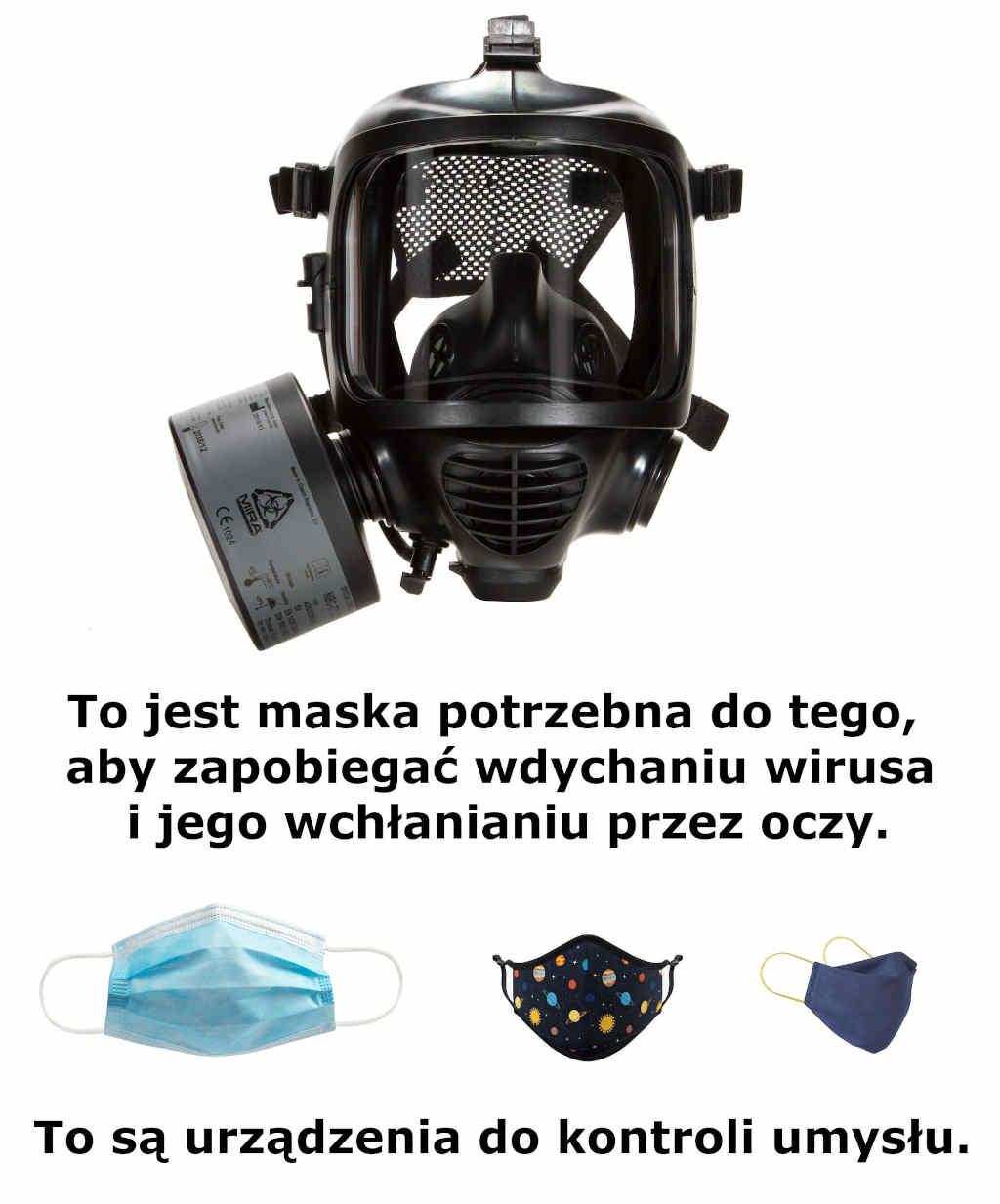 Maska MIRA Safety CM-6M vs. Maseczki na twarz z tkaniny