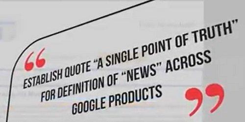 ustanowienie 'autorytatywnego i scentralizowanego źródła danych' odnośnie definicji 'komunikatów informacyjnych'