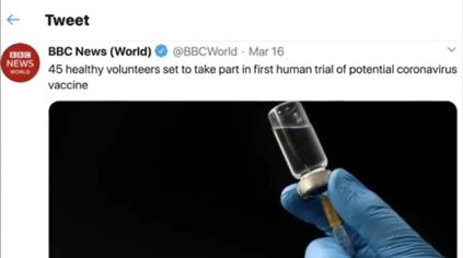 45 ochotników weźmie udział w pierwszych testach potencjalnej szczepionki przeciwko koronawirusowi na ludziach.