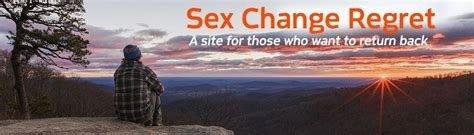Strona sexchangeregret, żałuje zmiany płci