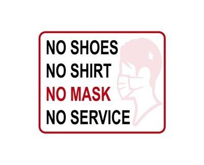 Brak butów, brak koszuli, brak maseczki, brak usługi