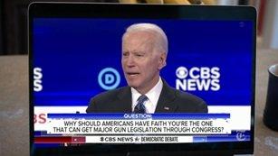 Joe Biden - Wyobraźcie sobie co by się działo gdybym tu stał i mówił, że przyznajemy immunitet koncernom farmaceutycznym.