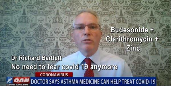 Dr Richard Bartlett - Strategia oparta na leku Budezonid