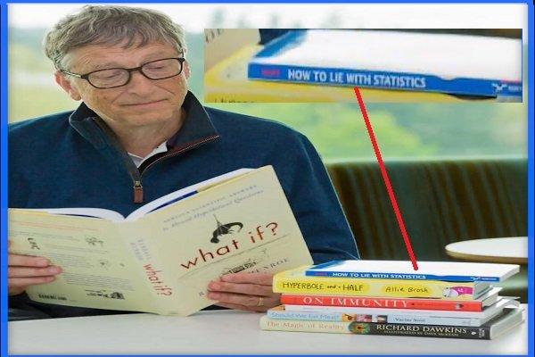 Bill Gates: Jak kłamać przy pomocy statystyki - Darrell Huff.