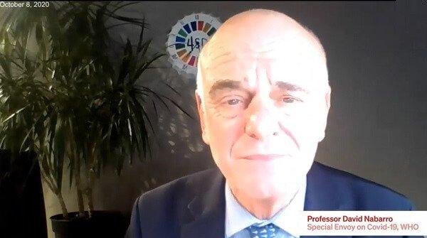 Dr David Nabarro: Lockdown pomógł biednym... stać się jeszcze bardziej biednymi