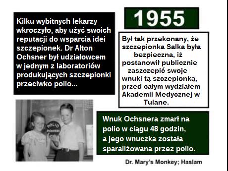 Szczepionka przeciw polio - dr Alton Ochsner