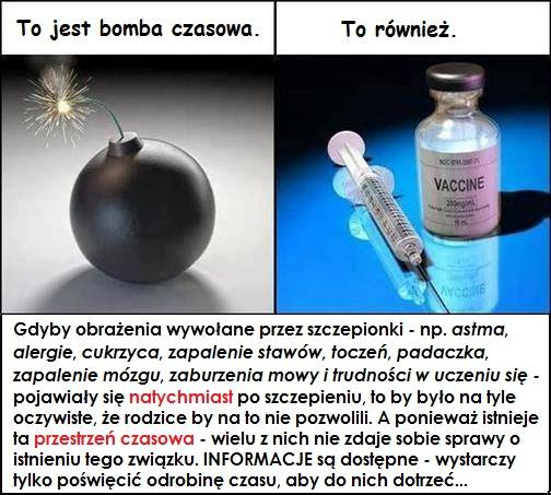 Szczepionki jako bomba z opóźnionym zapłonem