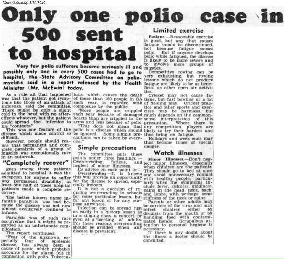 Tylko jeden przypadek polio na 500 trafia do szpitala