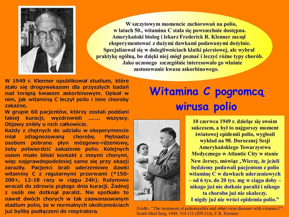Witamina C pogromcą wirusa polio