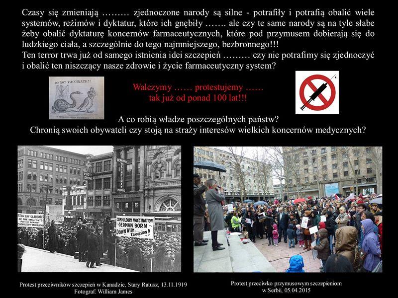 Protest przeciw szczepieniom 1919, Kanada