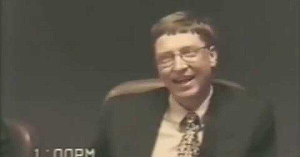 Wybrane fragmenty z przesłuchań Billa Gatesa [1998]