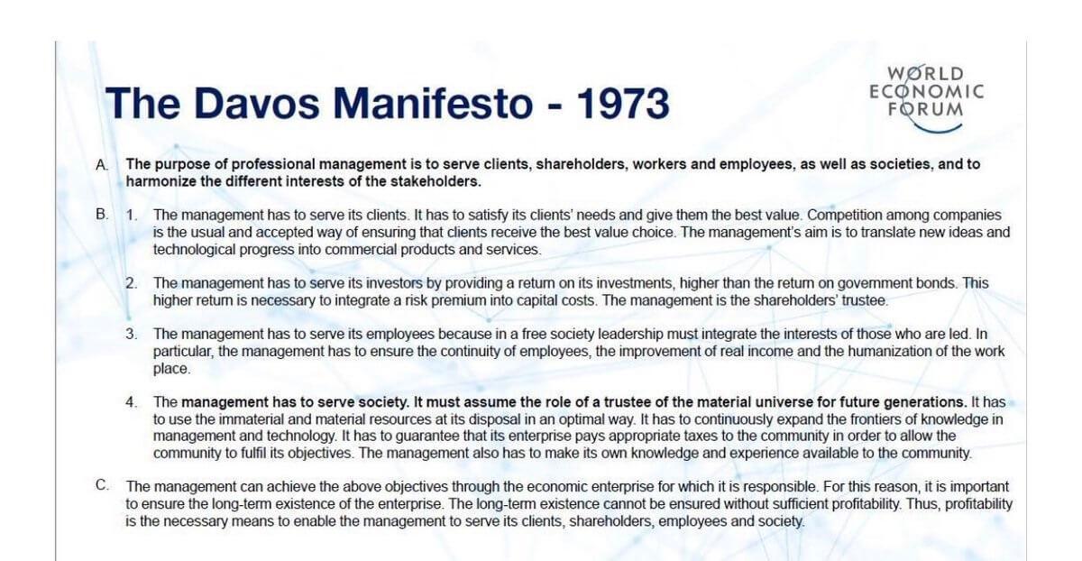 Kodeks - Manifest z Davos 1973