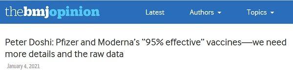 Szczepionki w 95% skuteczne?