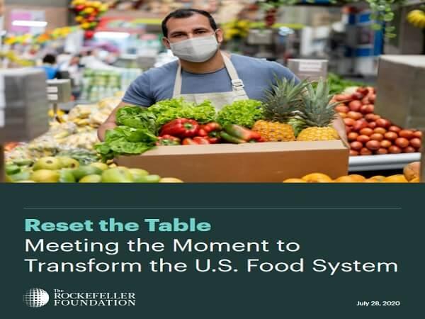 Zresetować stół żywnościowy - Fundacja Rockefellera