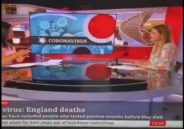 BBC News o pompowaniu kowidowych statystyk w WIelkiej Brytanii