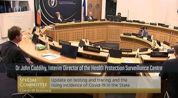 Dr John Cuddihy o pompowaniu kowidowych statystyk w Irlandii