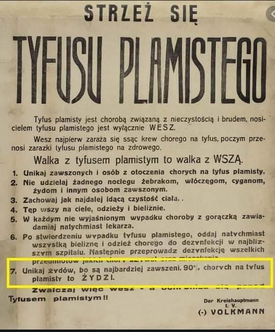 strzeż się tyfusu plamistego