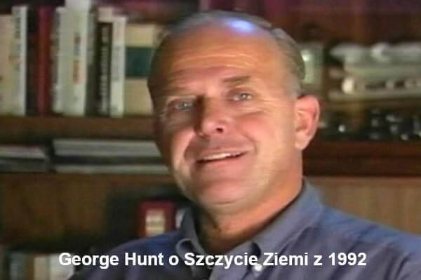 George Hunt o Szczycie Ziemi z 1992