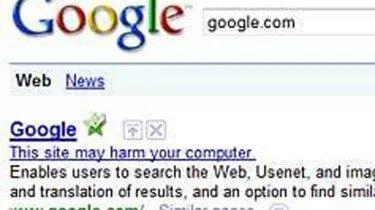 Google w 2009 wpisało na czarną listę cały internet