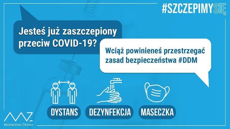 MZ - Jesteś już zaszczepiony przeciw COVID-19