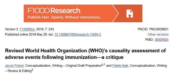Skorygowana ocena związku przyczynowo-skutkowego między szczepieniami a zdarzeniami niepożądanymi dokonana przez Światową Organizację Zdrowia (WHO) – analiza krytyczna