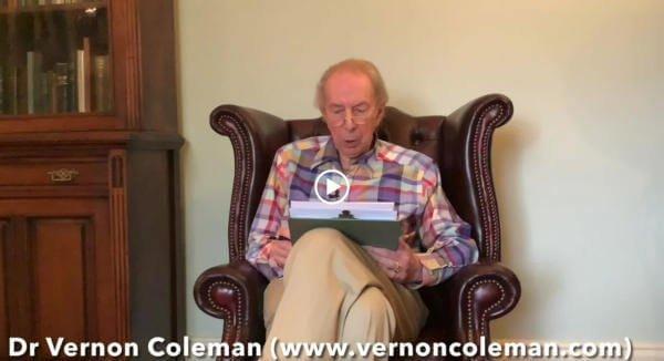 Dr Vernon Coleman: Szczepionki Covid-19 są bronią masowego rażenia - i mogą zniszczyć ludzką rasę