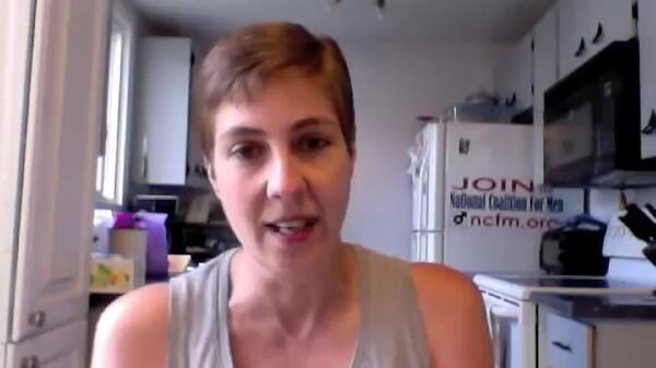 Eve Ensler - Mamy na sali jakieś waginy - Karen Straughan