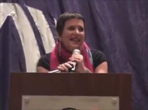 Eve Ensler: Mamy na sali jakieś waginy