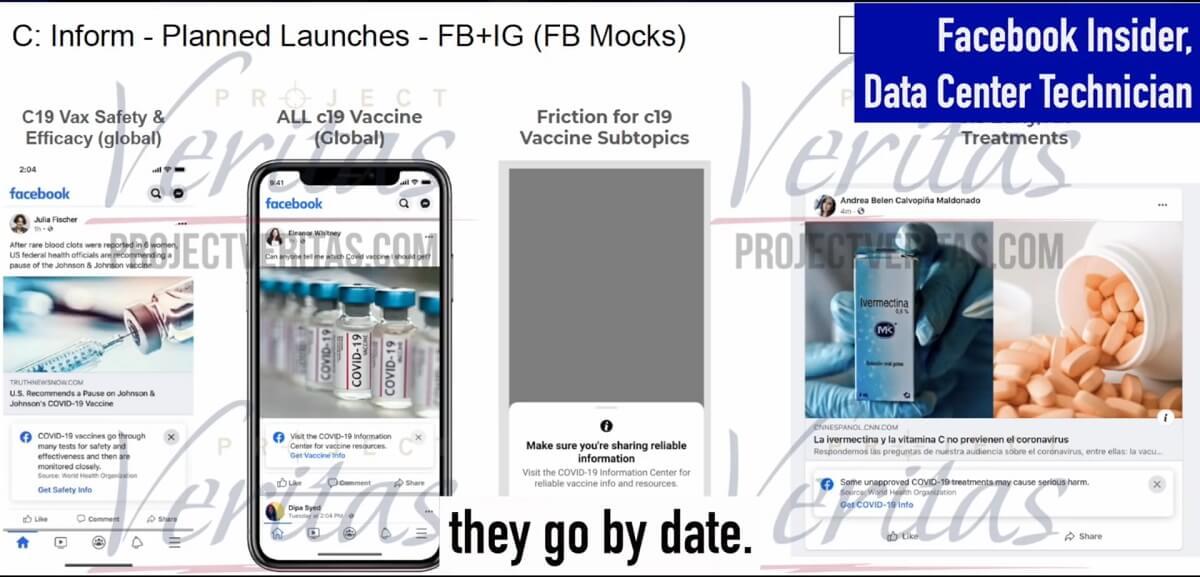 Demaskatorzy z Facebooka o potajemnej cenzurze dotyczącej szczepionek na skalę globalną