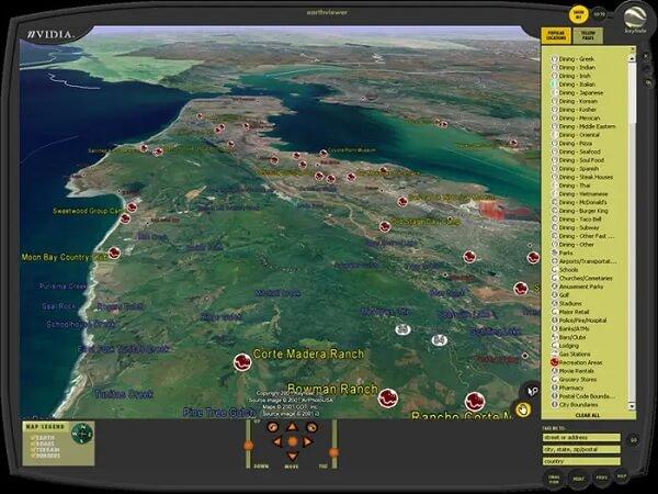 EarthViewer CIA był w zasadzie prototypem dla Google Earth
