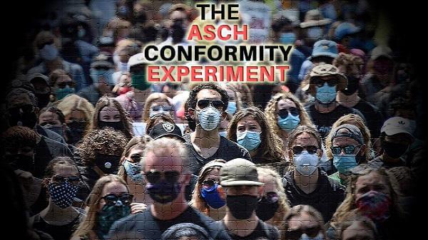 Eksperyment Ascha a konformizm społeczny w erze C-19