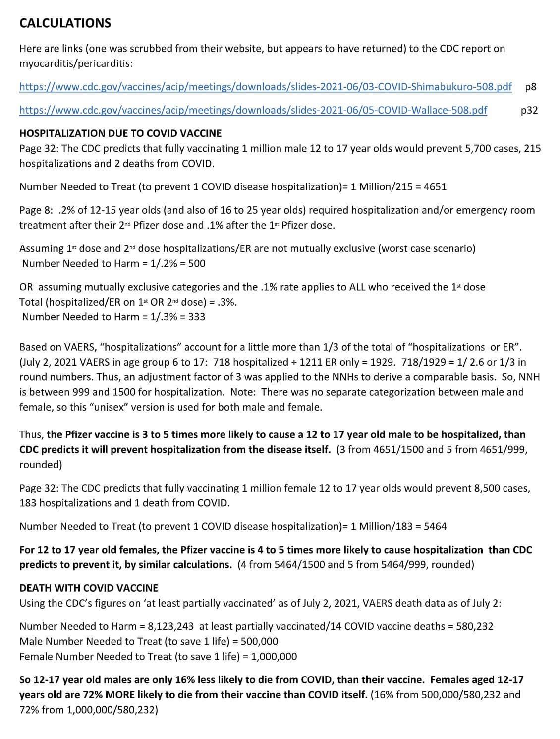 Korzyści i ryzyka z terapii genowej na C-19 wśród nastolatków – dr Robert Malone