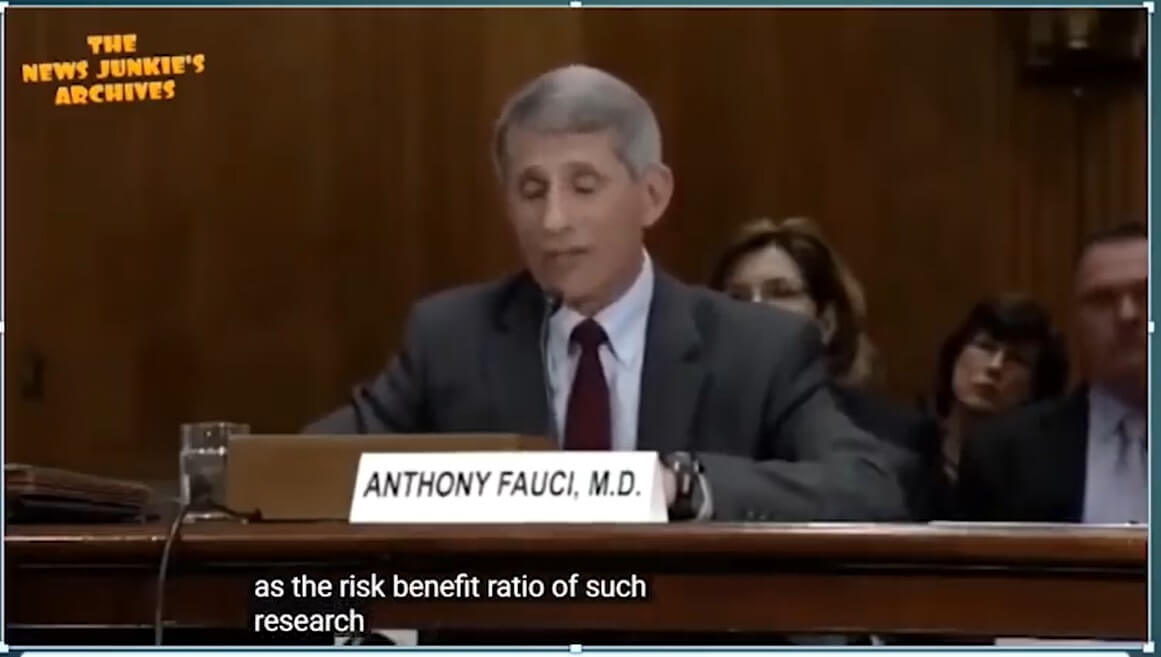 Anthony Fauci o badaniach Gain-of-Function - 2021
